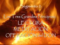 2 Lectura, Meditación y Operación del Don
