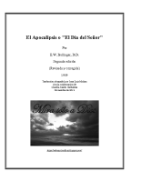 EL APOCALIPSIS o EL DÍA DEL SEÑOR (E.W. Bullinger)