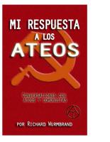 MI RESPUESTA A LOS ATEOS (Richard Wurmbrand)